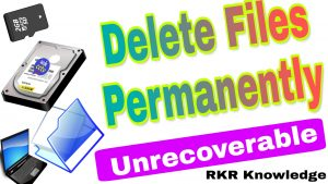 How to permanently delete Files & Folders in Computer ? | Computer tricks