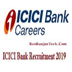 ICICI Bank Recruitment 2019 – Apply Online – All Vacancies
