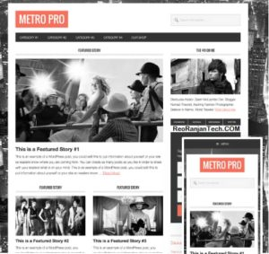 Metro Pro Theme Free Download