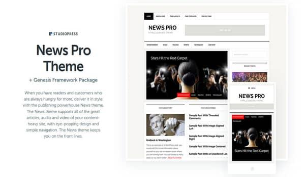 News Portal WordPress Theme Free Download