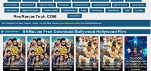 9KMovies Free Download Bollywood Hollywood Film