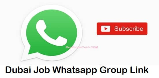 Dubai Job Whatsapp Group Link 786