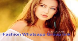 Fashion Whatsapp Group link