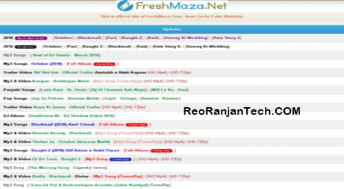 FreshMaza Movie Download Bollywood MP4 MP3 Songs