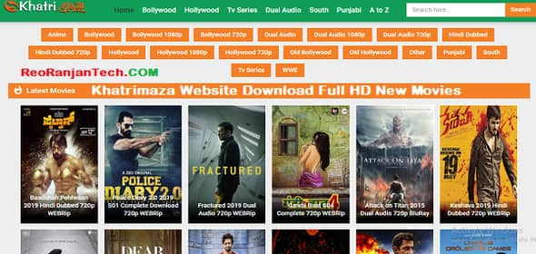 Khatrimaza Website Download Full HD New Movies