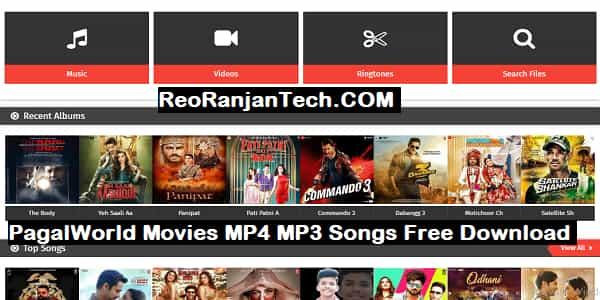PagalWorld Movies MP4 MP3 Songs Free Download