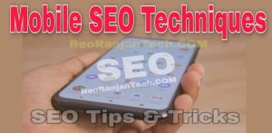 Mobile SEO Techniques in Hindi