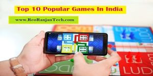 Top 10 Popular Games In India