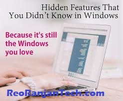 Windows 10 tricks