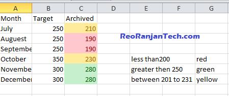 Excel में automatic color coding कैसे create करते है? Excel में automatic color coding कैसे create करते है?