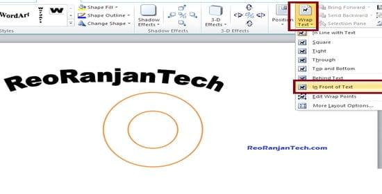 logo design in computer