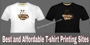 Best And Affordable T-Shirt Printing Sites