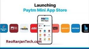 Paytm Mini App Store