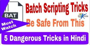 Dangerous Batch Scripting Tricks